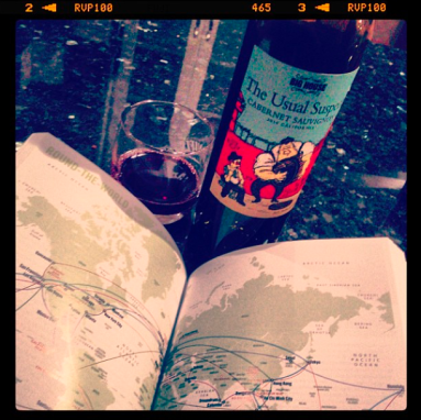 Wine helps calm the planning nerves