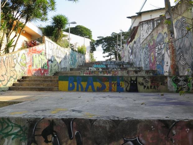 Stairs in Vila Madalena