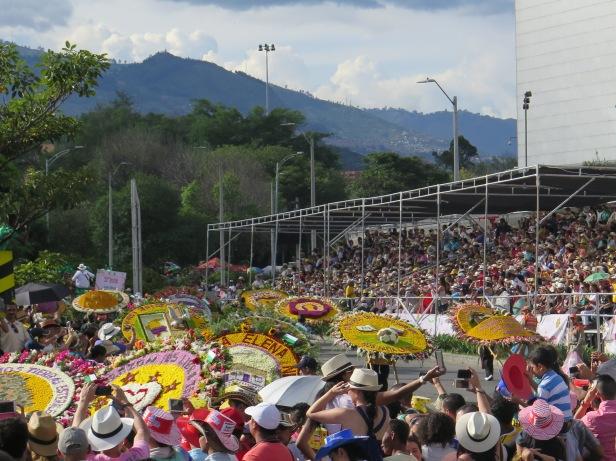 Feria de las Flores parade