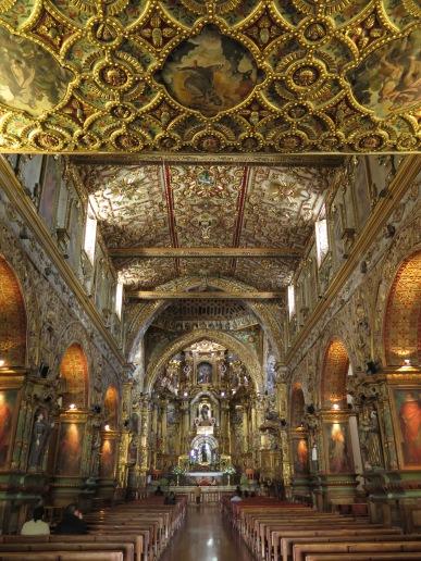 Inside Monasterio de San Francisco