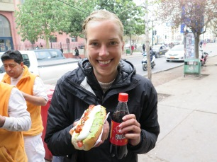 Street food in Chile