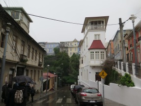 Steep streets and houses