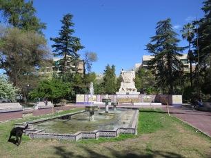 A park in Mendoza