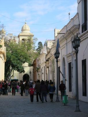 Pedestrian Street in Cordoba