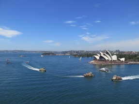 The Opera House from Harbour Bridge