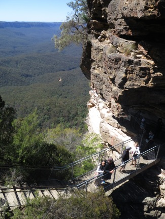 Walkway to the Three Sisters