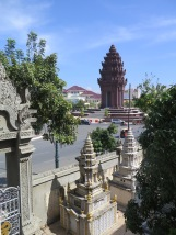 Independence Monument from Wat Langka