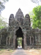 Entry to Angkor Thom