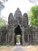 Entry to Angkor Thom
