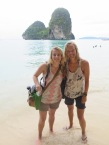 Kara and I at Phra Nang