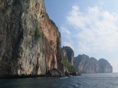 Boat ride around Phi Phi Leh
