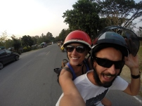 Riding with Mirco