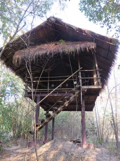 Stilts bungalow