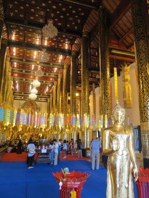 Inside Wat Chedi Luang