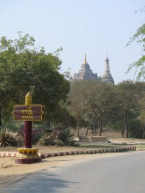 Entering Old Bagan