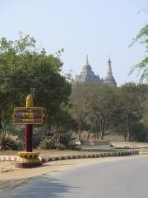 Entering Old Bagan
