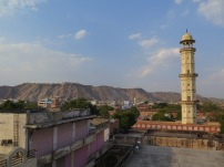 View from lunch over Jaipur