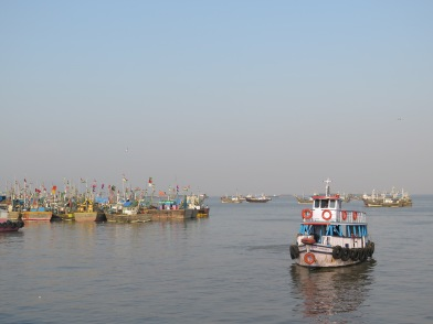 Boats to Elephanta
