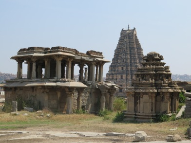 Virupaksha Temple and ruins