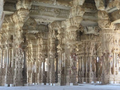 Inside Vithala Temple
