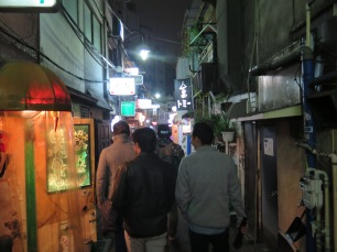 Golden Gai bar hopping