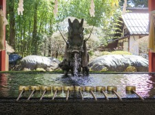 At the shrine entrance