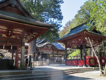 Buildings at the shrine
