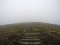 Stairs into a cloud