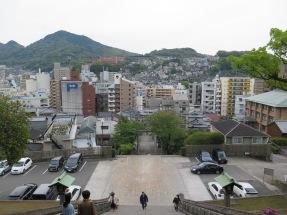 Nagasaki from Suwa Shrine
