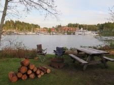 Ucluelet campsite