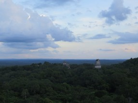 From the tallest temple