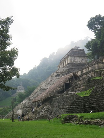 The first view of Palenque