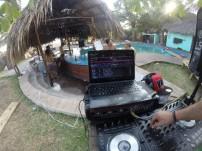 We brought a DJ