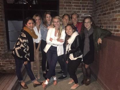 The bachelorette group